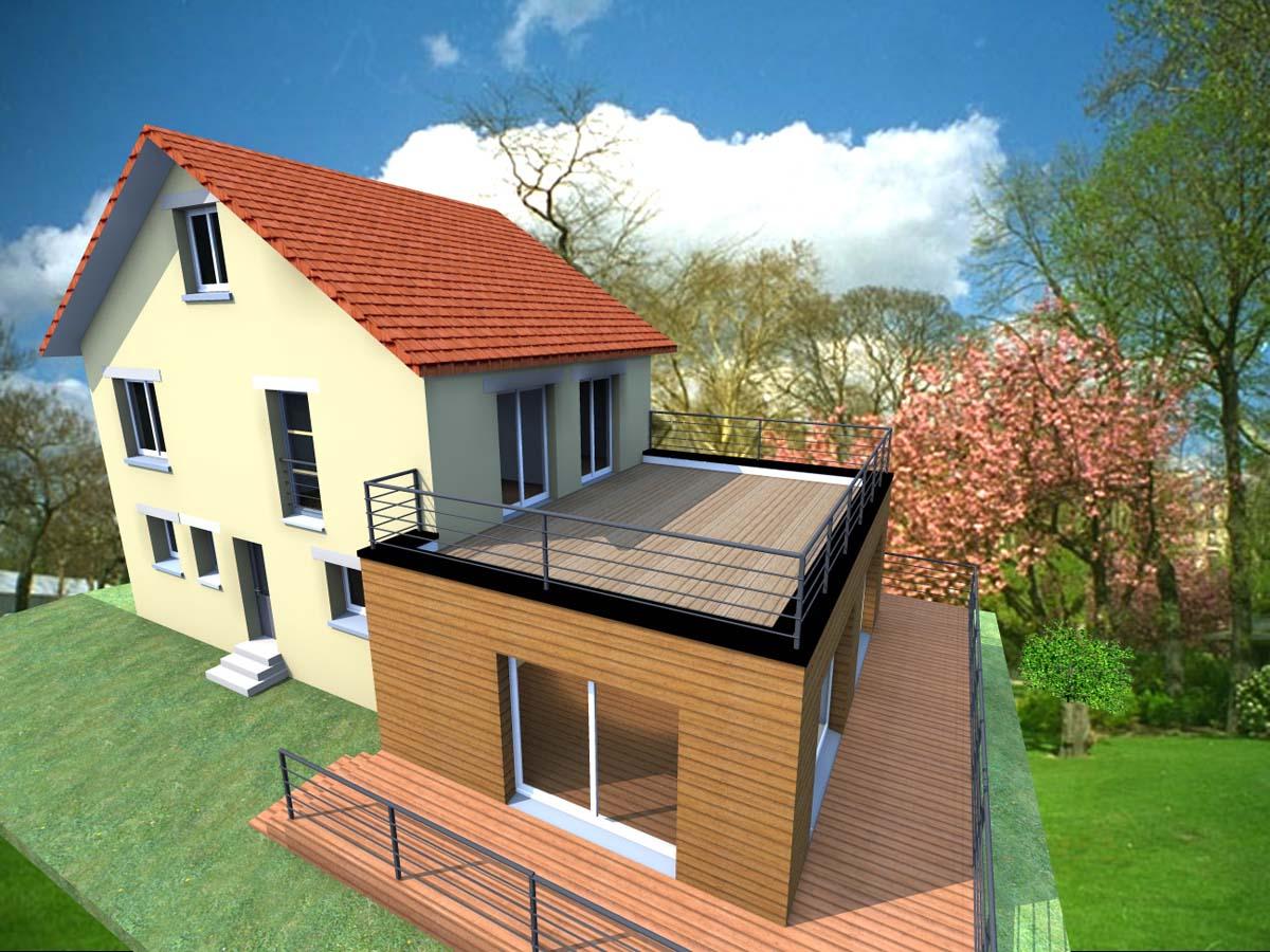 Simulateur de facade de maison gratuit resine de for Simulation plan de maison en ligne gratuit