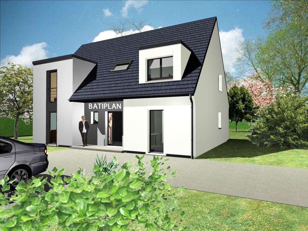 Maison contemporaine petite p pite pictures for Plans maisons contemporaine