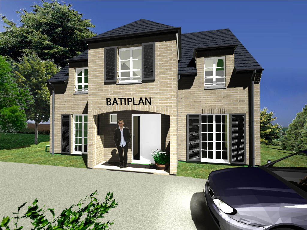 Plan de maison la photo de notre maison sable for Modele de maison a construire gratuit