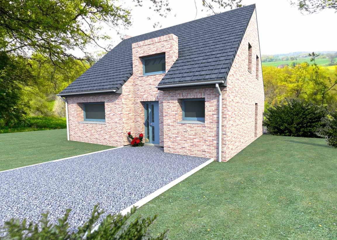 Plan de maison perspective maison grenadine for Modeles de maison a construire