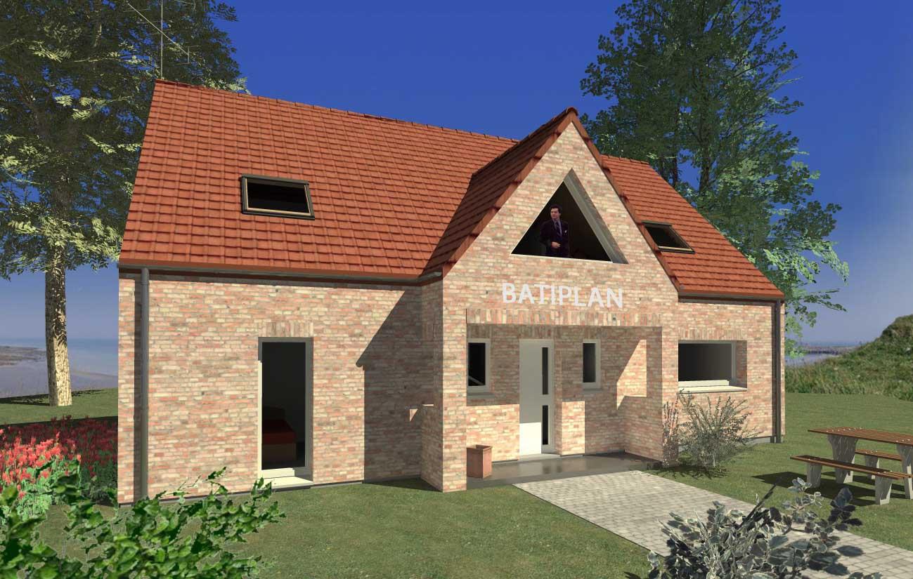Modle de maison construire etage maison neuve construire for Maison terrain a construire