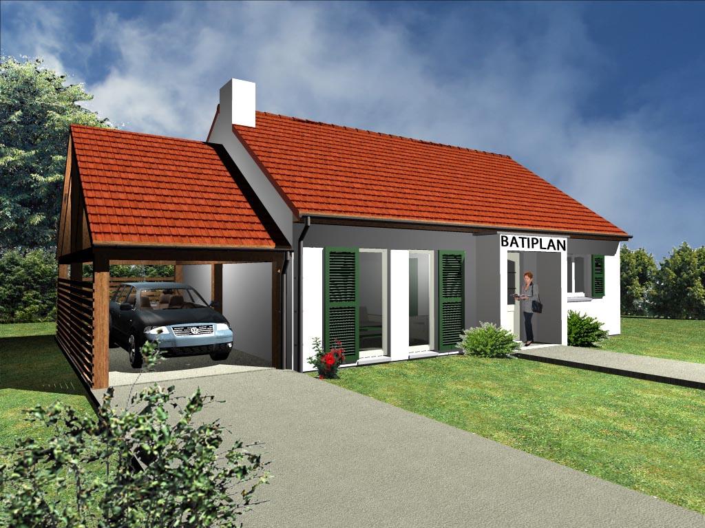 Plan de maison La photo de notre maison petite Doré # Construire Petite Maison En Bois
