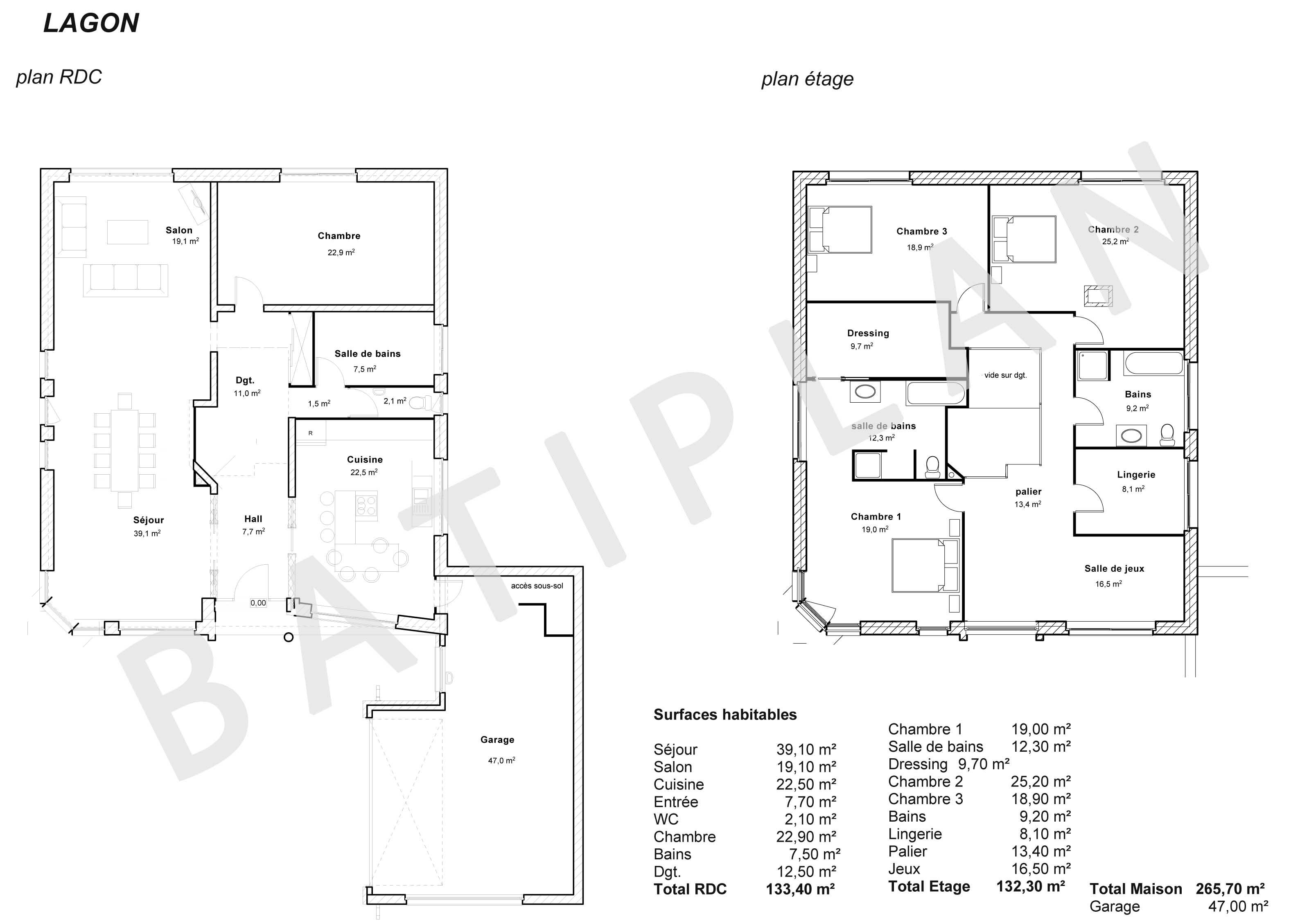 Plan maison lagon with plan pour construire une maison for Pour construire une maison